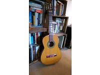 Classical or parlour guitar - left handed - lovely piece