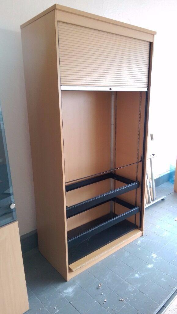 Roller Shutter Door Storage Cabinet Large In Liverpool Merseyside