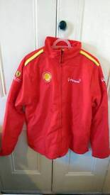 Official ferrari shell fleece jacket