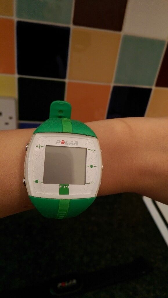 Polar Ft4 Heart Rate Monitor And Sports Watch Green In Warfield