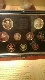 Various Pnc, Bunc coins for sale