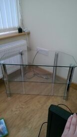 Glass tv stand,coffee table and nest tables