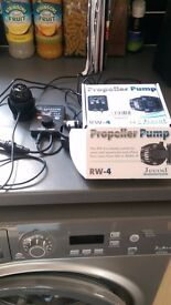 jecod RW4 wavemaker marine pump
