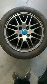 Ford Focus alloy wheels with 6 me of tread