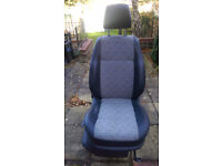 Volkswagen caddy 2011 driver seat part leather