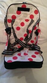Polar Gear baby booster feeding seat travel go anywhere wipe clean good as new