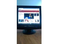 "LG 19"" Flatron Monitor/ freeview"