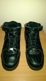 Nike air force 1 black , size 45 uk 10