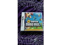 New super mariobros nintendo ds game