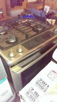 Free not currently functioning dual fuel stainless range