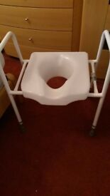 chair, over toilet seat crutches