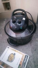 Halogen Oven Convection Black Oven with lots of accessories