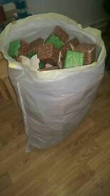 BIG BAG OF MINECRAFT BLOCKS AND CHARACTERS