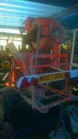 Cement mixer grouting machine pump