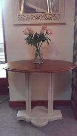 Painted Hall Table *Pedestal*