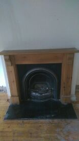 bargin fire and fire place, got to go!!!