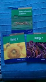 Biology A level Course books