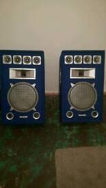 Sound labs 200W each
