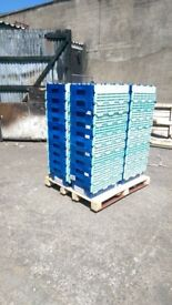 STRONG AND STACKABLE PLASTIC STORAGE BOXES FOR SALE