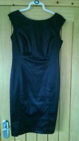 Black dress (gerard), size 12.