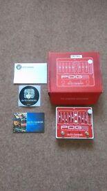 Electro Harmonix POG2 – octave pedal