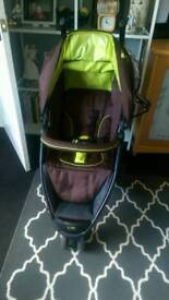 Isafe visual 3 pushchair