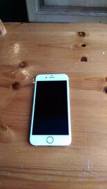 Apple IPhone 6 16GB Gold unlocked in good condition