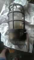 1940s crouse hinds industrial light