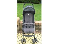 Single Pushchair With Rain Cover -Hardly Used