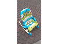 Fisher price 3 in 1 swing n rocker at lowest price - For quick sale