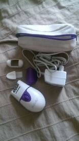 Zepter epilator with bag, good condition