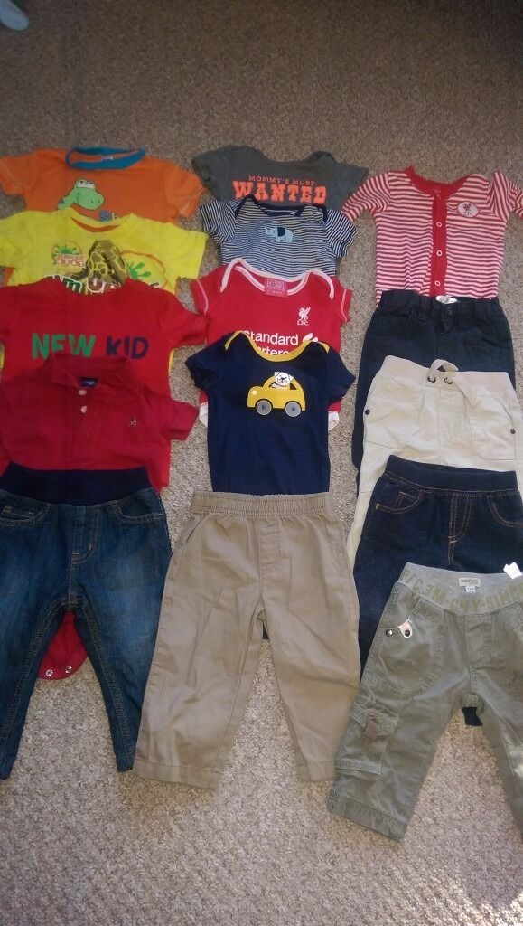Baby boys clothes bundle 6m-12m