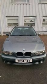 2001 BMW 5 Series 2.5 525d SE Touring 5dr HPI Clear 6 gear Semi auto Leather