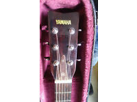Yamaha FG750S Acoustic guitar and hard case