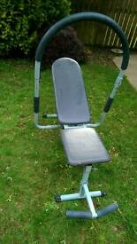 Sit up bench - assistive