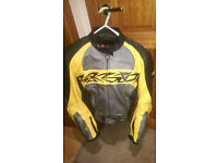 Dainese Leathers - 2-Piece, Yellow/Black/Grey, VGC, Size 38 UK (48 EU)
