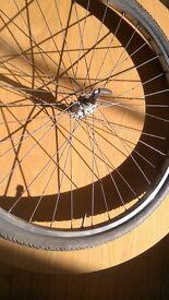 Road Bike Front Wheel 700c QR. w/Inner Tube and Tyre