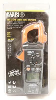New - Klein Tools Cl600 600-amp Ac Auto Ranging Digital Clamp Meter