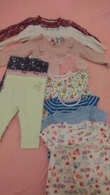 dc509dd848c0 Baby Girl Tops Leggings Bundle 3-6 months