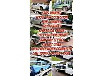 Scrap cars wanted non runners mot failures anything considered top prices paid