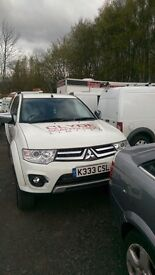 Mitsubishi l200 Trojan DCB DI-D 4x4 REDUCED FOR QUICK SALE