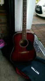 Westfield Acoustic Guitar with beginners books