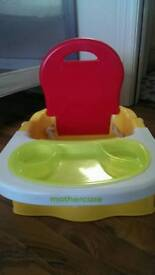 Mothercare feeding booster
