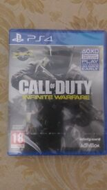 Call of Duty Infinite Warfare for PS4 Brand new. Sealed