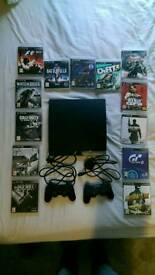 Ps3 2 controllers and 13 games