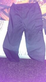 mens work trousers (38 w)