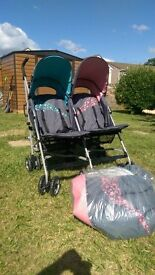 Ladybird Twin buggy - Used - Nearly New