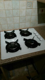 Electrolux glass gas hob top