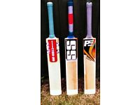 GN, SS & PE Cricket Bats - £140 Each - Grade 1 English Willow - Ready To Play
