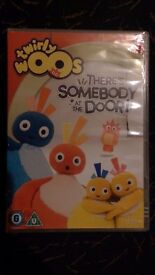 Children Dvd - Twirlywoos There's somebody at the door Dvd.